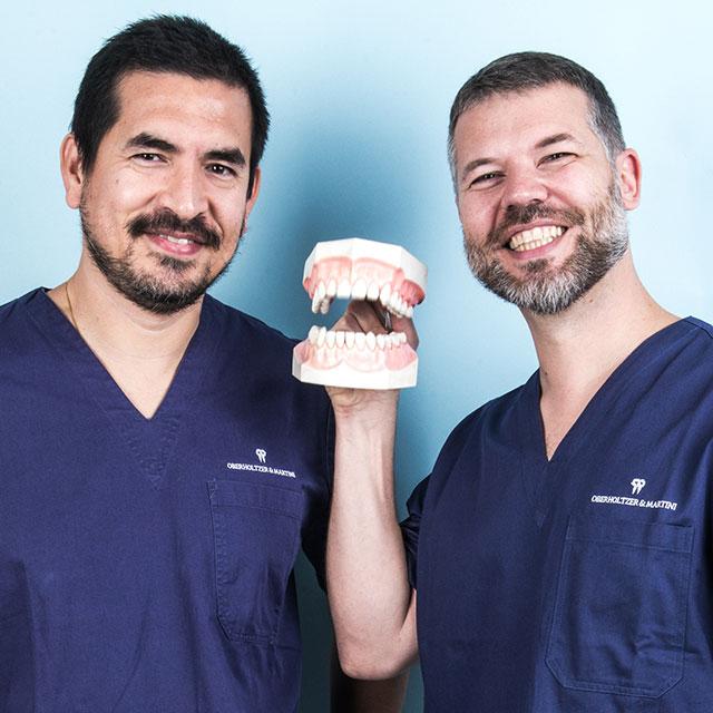 Riparazione e sostituzione denti - Oberholtzer & Martini Studio Dentistico a Vicenza